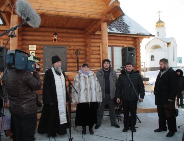 Открытие музея Геннадия Заволокина
